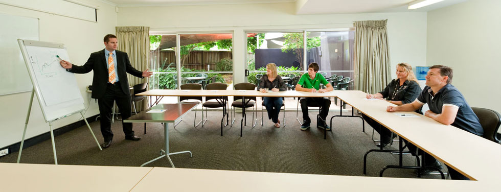 Rocklea International Motel has two function rooms with private court yards to host up to 45 delegates per room.